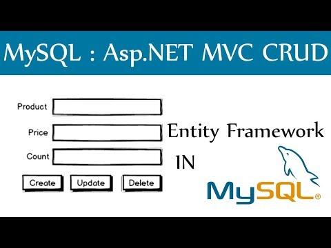 MySQL In Asp.Net MVC CRUD Application Using Entity Framework