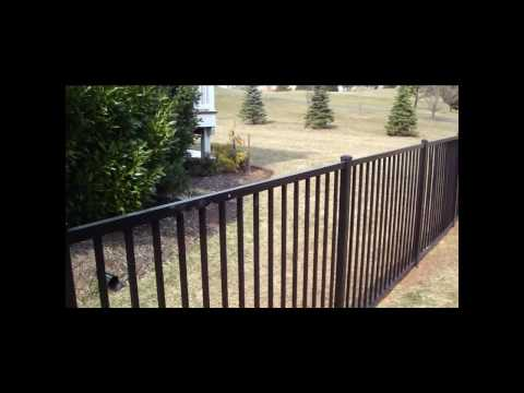 Aluminum Fence Video