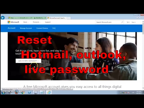 How to Change or Reset Hotmail Account  Password