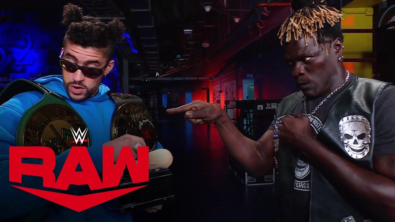 Bad Bunny negotiates a 24/7 Championship trade with R-Truth: Raw, Mar. 15, 2021