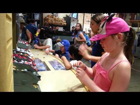 Sarah and R2D2 Disney Build Your Own R2D2