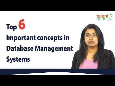 Top 6 Important concepts in Database Management Systems | DBMS | TalentSprint