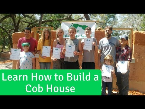 Learn How to Build a Cob House - Natural Building Workshops in Florida, Georgia, Tennessee