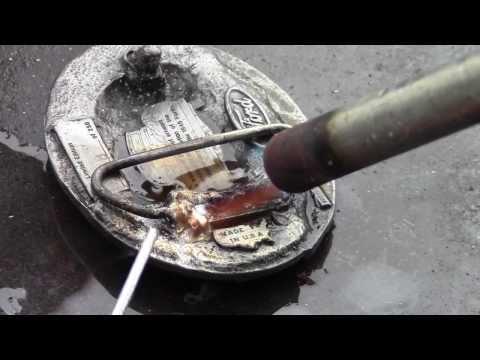 How To Repair Pot Metal or Zinc Die Cast Belt Buckles