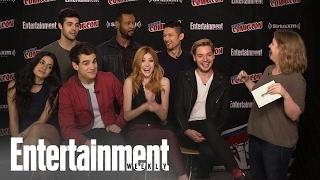 Shadowhunters Cast Talks Season 2 At Nycc 2016 Entertainment Weekly