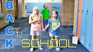 Download BACK TO SCHOOL Baldi's Basics in REAL Life! Video
