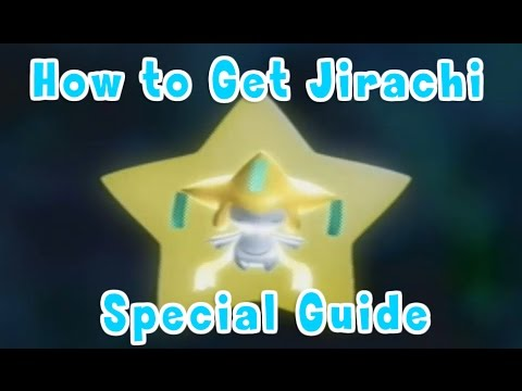 How to get a Jirachi in Pokemon Ruby & Sapphire Guide!!