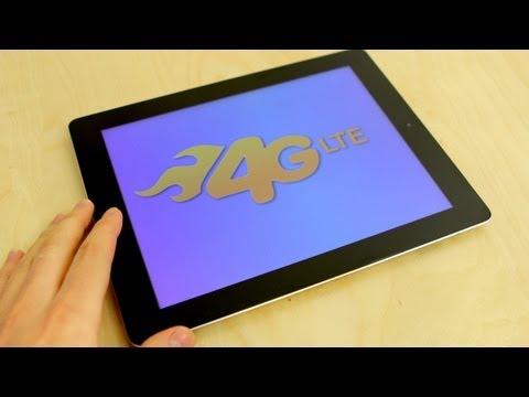 New iPad 3rd Generation: AT&T 4G Speedtest
