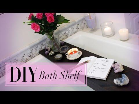 DIY Bath Decor & Shelf | Personal Spa | ANN LE