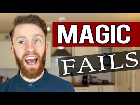 MY TOP 5 MAGIC FAILS!