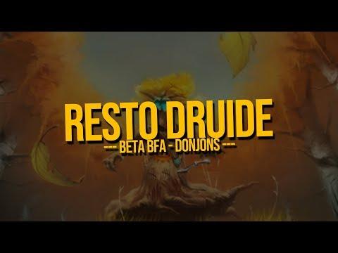 Resto Druide - Beta BfA - Donjons