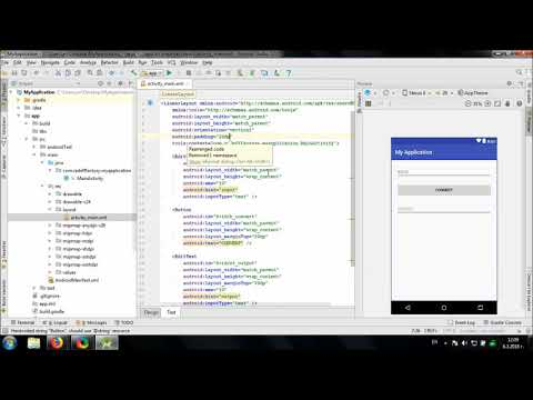 Develop simple Flip Text app in Android Studio