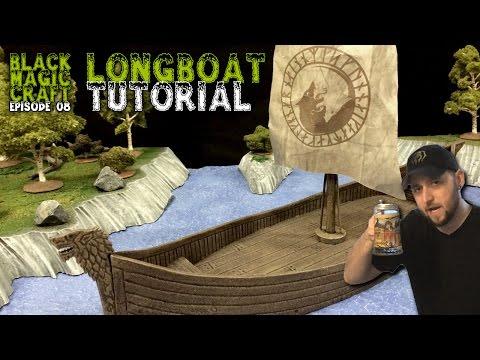 Longboat (Ship) For D&D Tutorial (Episode 08)