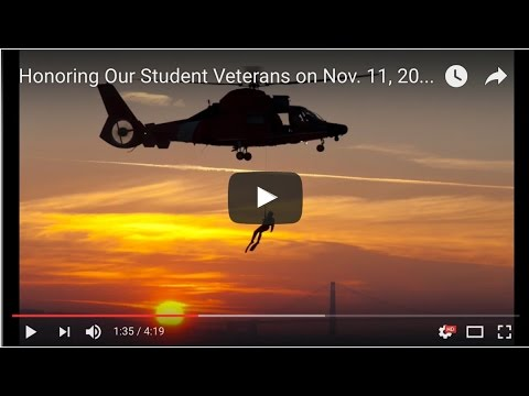 Honoring Our Student Veterans on Nov. 11, 2016