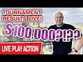 🔴 $100,000 Slot Tournament Full Results LIVE! 🎰 I'll Give You the Scoop and CHASE MORE HANDPAYS
