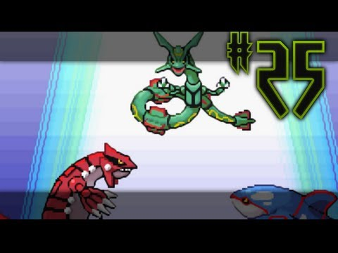 Pokemon Emerald: 25 The awaken of Rayquaza (Sky Pillar)