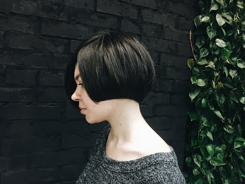 how to cut round graduation haircut