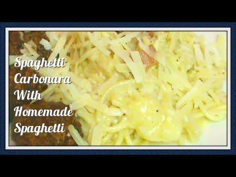 Using the KitchenAid Pasta Extruder PLUS Spaghetti Carbonara Recipe