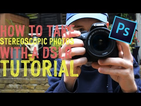 How To Make Stereoscopic 3D Photos With a DSLR & Photoshop CS6!