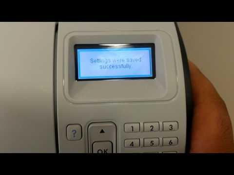 HP LaserJet 600 M602 Configure IP network settings