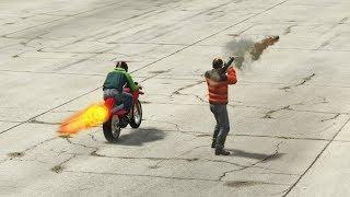 GTA 5 - Is Oppressor Faster Than A Rocket?