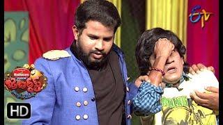 Hyper Aadi, Raising Raju Performance | Jabardasth | 28th June 2018 | ETV  Telugu