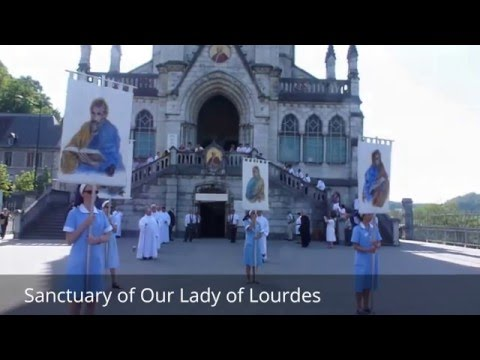 Places to see in ( Lourdes - France ) Sanctuary of Our Lady of Lourdes