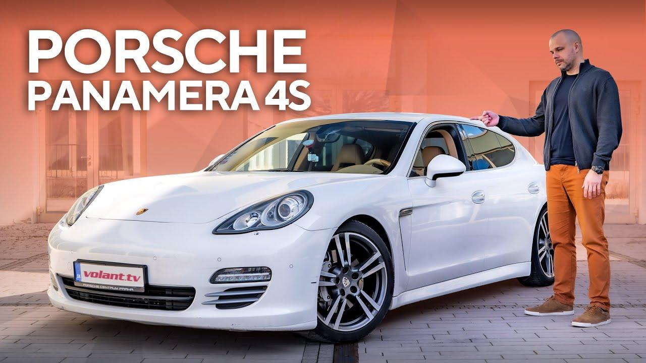 Martinove Porsche Panamera 4S - volant.tv