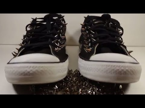 DIY Studded Shoes Tutorial Studded Shoes