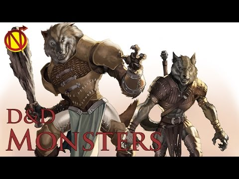 Infected with Lycanthropy in D&D| Dungeons and Dragons Monsters