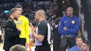 Warriors' David West Gets a Technical Foul...While Riding A BIKE! WTF!