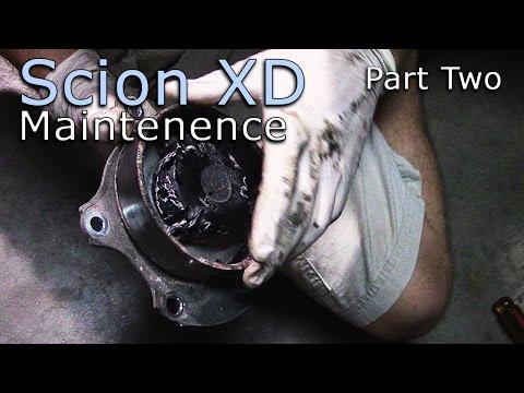 Scion XD Maintenance Part Two