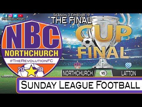 Sunday League Football - TROPHY CUP FINAL