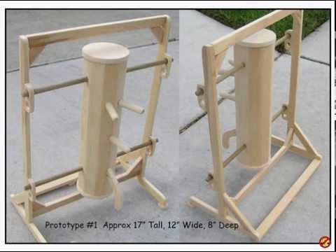 Building a Mini Mook Jong / Wing Chun Dummy