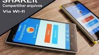 SHAREit app da semana,transferir arquivos via wifi