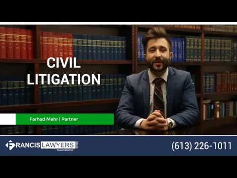 Civil Litigation Lawyer Ottawa - Francis Lawyers