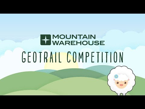 Mountain Warehouse Geocaching Competition 2017   MW GeoTrail