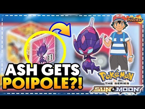 ASH GETS POIPOLE in the Pokémon Sun and Moon Anime! (Pokémon Ultra Sun and Ultra Moon)