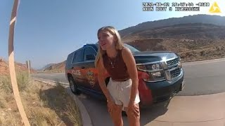 Body camera of interaction with Gabby Petito and her boyfriend before she went missing (FULL VIDEO)