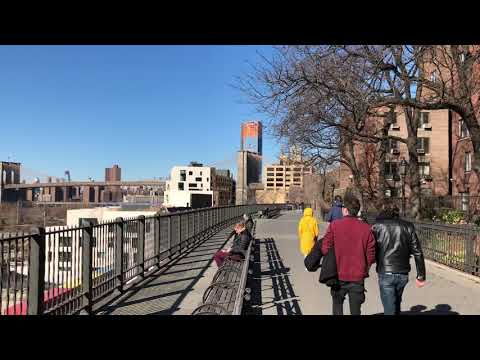 sunny Brooklyn Heights Promenade, New York (3-11-18)