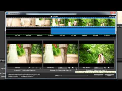 Add and Edit Video Clips in ProShow 5