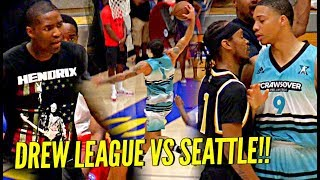 Drew League vs Jamal Crawford