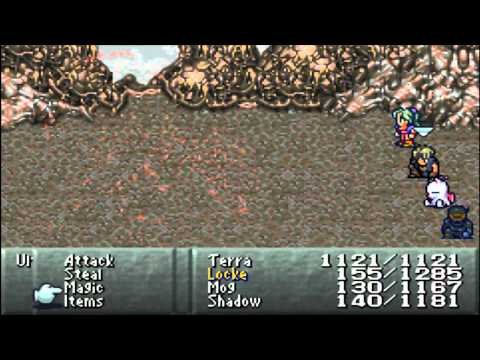 Let's Play Final Fantasy VI #047 Ultima Weapon and Warring Triad