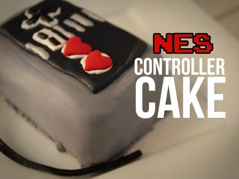 NES Controller Cake - Quake N Bake