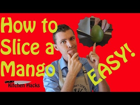 Success! How to Cut and Slice a Mango | Easy Tips and Tricks to Tell When a Mango is Ripe