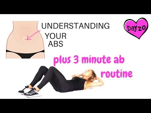 FIND OUT THE  ONLY WAY TO LOSE BELLY FAT -  3 MINUTE AB WORKOUT ROUTINE --  3 things you need to do