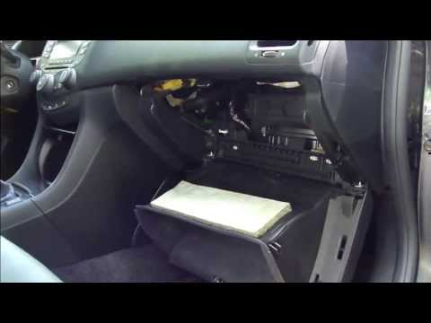 How to replace cabin air filter Honda Accord. Years 2003 to 2007.Pollen filter.