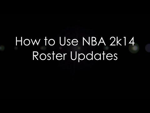 How to Use NBA 2k14 Custom Roster Updates - HoopsVilla com