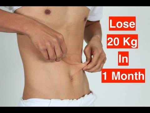 How To Lose 20 kg in 1 Month / Lose 20 Kg In 30 Days