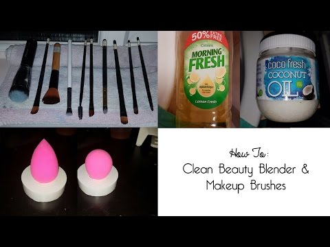 HOW TO: Clean Beauty Blender & Makeup Brushes | Shannon Davies